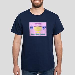 Happy Hanuka Dark T-Shirt