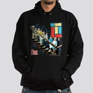 The Brady Bunch: Staircase Image Hoodie (dark)