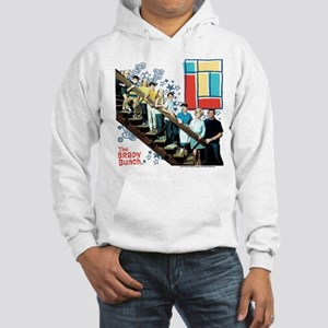 The Brady Bunch: Staircase Image Hooded Sweatshirt