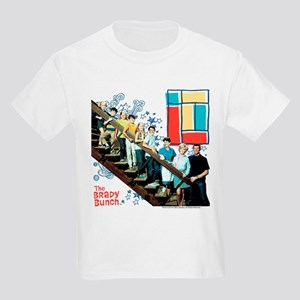 The Brady Bunch: Staircase Imag Kids Light T-Shirt