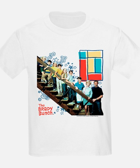The Brady Bunch: Staircase Imag T-Shirt