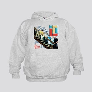 The Brady Bunch: Staircase Image Kids Hoodie
