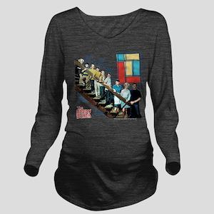 The Brady Bunch: Sta Long Sleeve Maternity T-Shirt