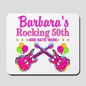 50TH BIRTHDAY Mousepad
