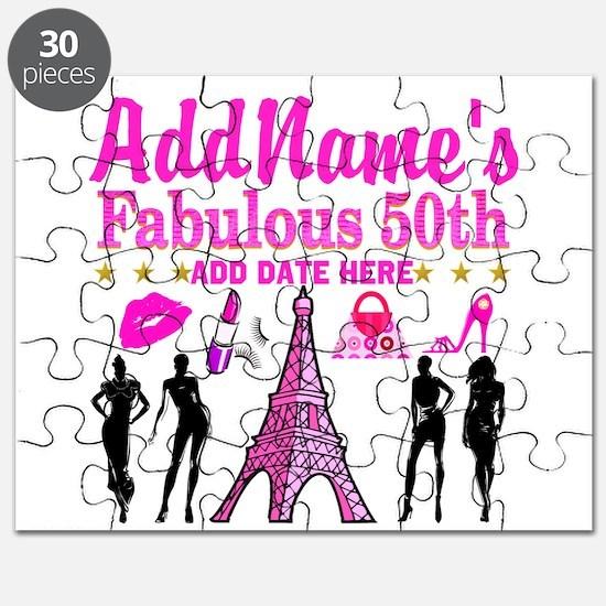 50TH BIRTHDAY Puzzle