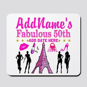 50TH BIRTHDAY Mousepad