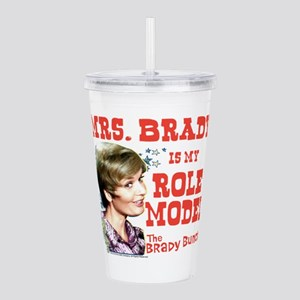 Mrs. Brady Is My Role Acrylic Double-wall Tumbler