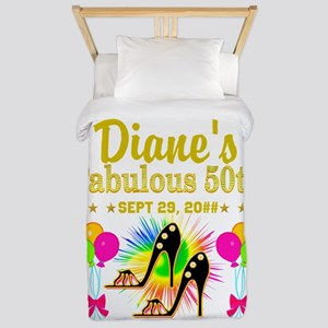 50TH BIRTHDAY Twin Duvet
