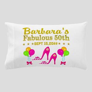 50TH BIRTHDAY Pillow Case