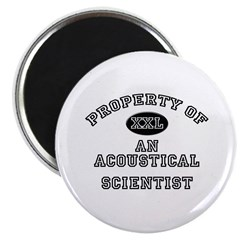 Property of an Acoustical Scientist 2.25