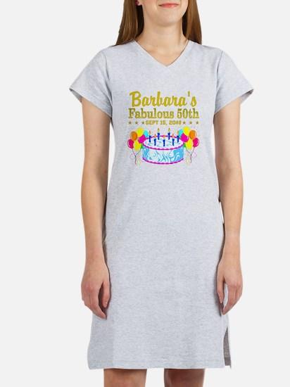 50TH BIRTHDAY Women's Nightshirt