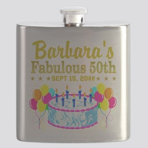 50TH BIRTHDAY Flask