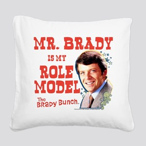 The Brady Bunch: Mr. Brady Square Canvas Pillow