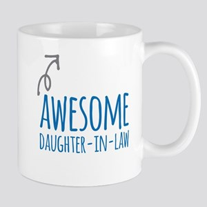 Awesome Daughter-In-Law Mugs