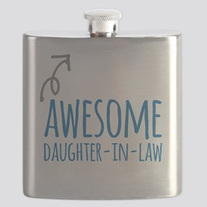 Awesome Daughter-In-Law Flask