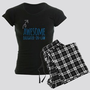 Awesome Daughter-In-Law Women's Dark Pajamas