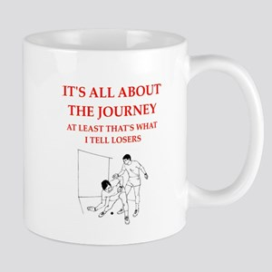 racket and handball Mugs