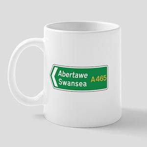 Swansea Roadmarker, UK Mug