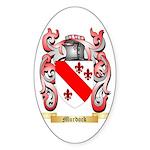 Murdock Sticker (Oval 50 pk)