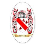Murdoch Sticker (Oval)