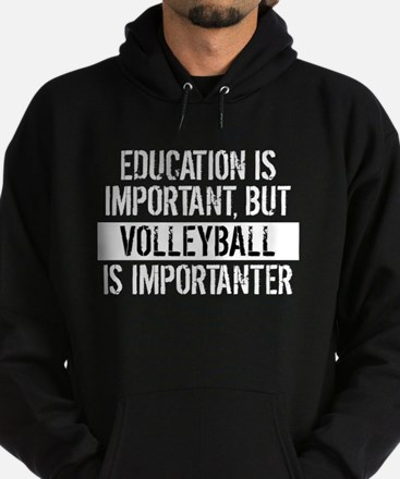 Volleyball Is Importanter Hoodie
