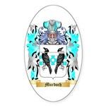 Murdoch 3 Sticker (Oval 10 pk)