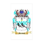 Murdoch 2 Sticker (Rectangle 50 pk)