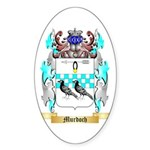 Murdoch 2 Sticker (Oval 50 pk)