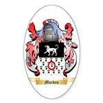 Murden 2 Sticker (Oval 50 pk)