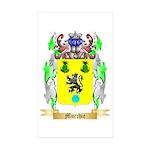 Murchie Sticker (Rectangle 50 pk)