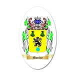 Murchie 35x21 Oval Wall Decal