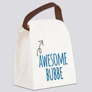 Awesome Bubbe Canvas Lunch Bag