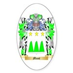 Munt Sticker (Oval 50 pk)