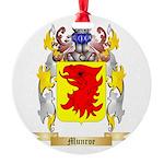 Munroe Round Ornament