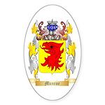 Munroe Sticker (Oval 50 pk)
