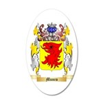 Munro 35x21 Oval Wall Decal