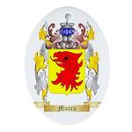 Munro Oval Ornament