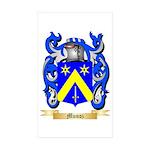 Munoz Sticker (Rectangle 50 pk)