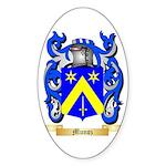 Munoz Sticker (Oval)