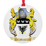 Munn Round Ornament