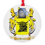 Muniz Round Ornament