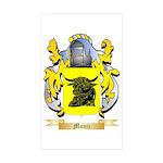 Muniz Sticker (Rectangle 50 pk)
