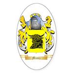 Muniz Sticker (Oval 10 pk)