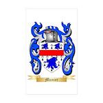 Munier Sticker (Rectangle 50 pk)