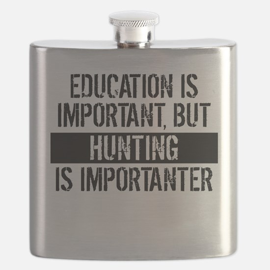 Hunting Is Importanter Flask