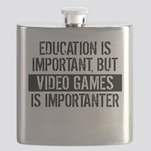 Video Games Is Importanter Flask