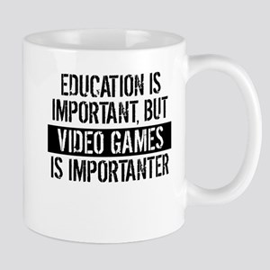 Video Games Is Importanter Mugs