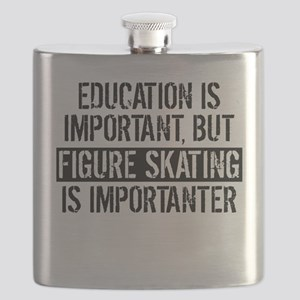 Figure Skating Is Importanter Flask