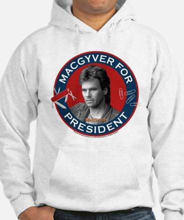 MacGyver For President Hoodie