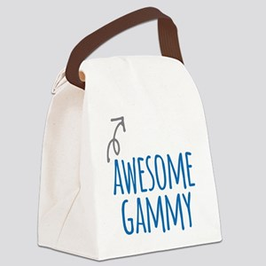 Awesome Gammy Canvas Lunch Bag
